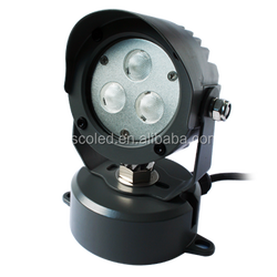 9W outside waterproof led garden light for park/public garden