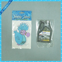 Cotton paper funny car air freshener