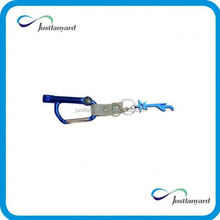 Customized good quality leopard lanyard key chain holde