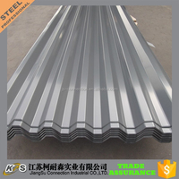 galvanized corrugated sheet metal roofing
