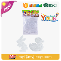 mini toys for kids 10mm beads hole pegboard hook
