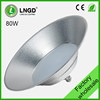 factory wholesale 80w milky cover workshop high bay led light