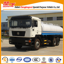 Shacman 3 axles 10 tires Euro 4 water truck water transport truck water tanker truck for sale