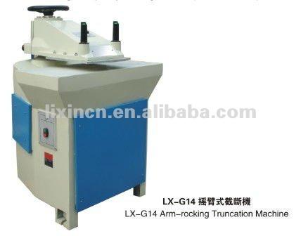 Hidráulico braço - de balanço máquina de corte para sapatos e bolsas manufactory