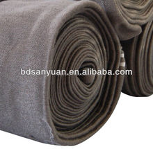 metallic stainless steel 316L heat resistant fabric for glass making