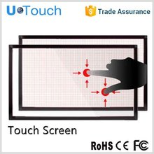 Easy operation 46 inch touch screen overlay kit for 2,4 touch points