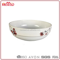 First garde common family needs food serving flat bottom size optional plastic shark fin bowl
