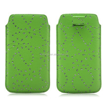 Mobile Cell Leather PU Slim up Universal Phone pouch Case