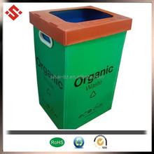 2015 PP corrugated plastic waste bin
