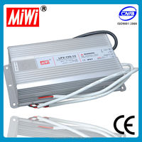 Low price LPV-150 series Hot Sale Waterproof IP67 150W 12V 12.5A Led Power Supply