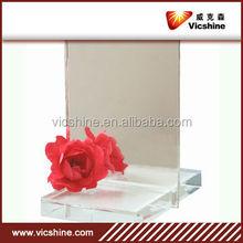 Fashionable beauty aluminum mirror,hair aluminum mirror station