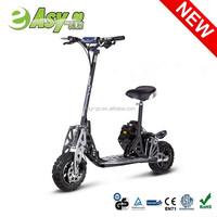 Hot EVO Uberscoot 2 wheel 49cc trike gas scooter with CE/EPA certificate