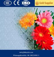 3mm 4mm 5mm 6mm 8mm Diamond Flora Chinchilla pattern glass with factory price