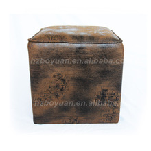leather ottoman stool for dressing table
