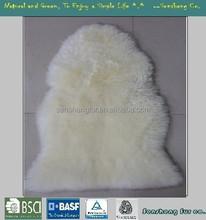 Natural Austrslian long wool lamb skin/sheepskin rugs