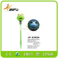 Frog flashing promotional animal ballpoint pen