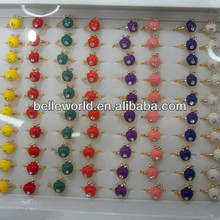 wholesale cheap ring with rhinestone for promotional
