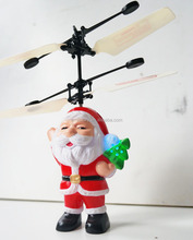 Manufacture high quality radio remote control helicopter UFO Santa