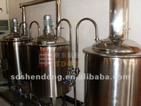 100L pilot nano brewery equipment