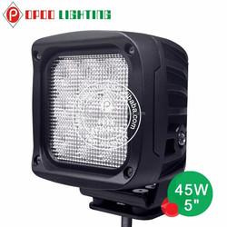 5 Inch 45w led work light high power off road round 45w work light