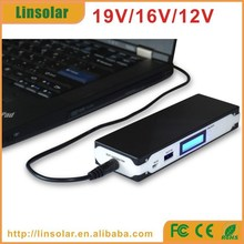 Cheap price LCD 6600mAh laptop power bank charger 19V for laptop acer lenovo hp dell