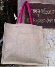 Customized Logo Eco-Friendly Jute bag / jute shopping bag / jute bags wholesale