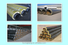 outer corrosion resisitance foam thermal color pipe insulation