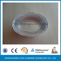 Hot Sale disposable oval food packaging aluminium foil containers/tray/box