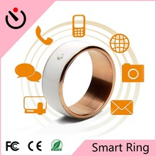 Wholesale Smart Ring Jewelry Black Lacquer Luxury Diamond Gold Plated ring in Leather Jewelry Box
