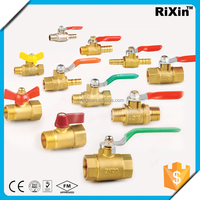 "RX 1158-216 3/8"" brass water pump foot valve 3/8"" water meter valve 3/8"" ppr brass valves"