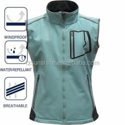 Softshell Women Fishing Vest