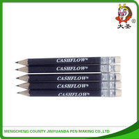 2015 Poplar wood golf pen with golf set holder pass EN71