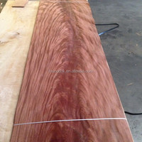 Natural African Mahogany Crotch Wood Veneer for Fancy Hotel Decoration
