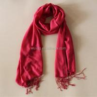 Red Pashmina Warm Winter Cashmere Scarf Sale