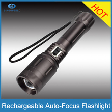 1*18650 battery + Charger + 800 Lumens + 3 Modes CR EE LED Autofocus maglite led flashlight