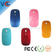 Customized 2.4g optical wireless mouse from FCC standard mouse factory