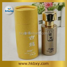 wholesale fashion recycled packaging round perfum paper box manufacturer