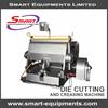 plastic files making machine/die cutting and creasing machine