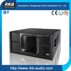 800W Neodymium dual 10 inch Q1 line array