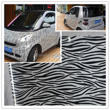 New arrival Animal skin car wrap vinyl with air channel 1.52*30m