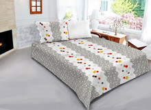 100% polyester cheap queen size printed bed sheet/pillow case morden bedroom sets manufactures in china