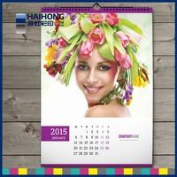 Custom high quality wholesale desk / wall calendar printing in China
