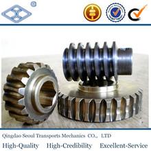 High Quality Durable Worm Drive SW2.5-R2 J15 JIS standard m2. C45 high precision machining parts steering gear worm drive shaft