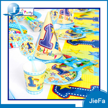 Cheapest Paper Tableware Kits 1St Birthday Party Pack