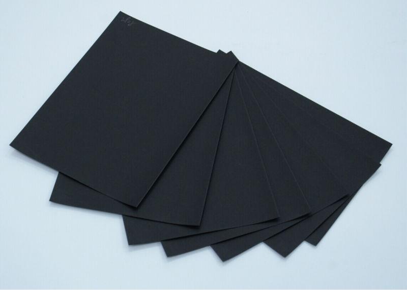 Крафт бумага черная для