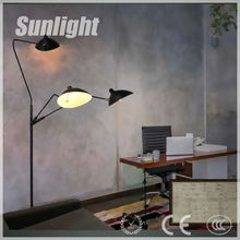 Industrial bizarre antique floor light luxury vibe ralax decoration for bar /inn/restaurant/house from zhongshan supplier
