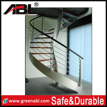 ABLinox stainless steel handrail for stairs and balcony railing design