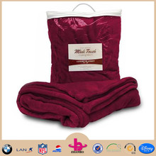 100% Polyester Faux Mink Touch Luxury Blankets
