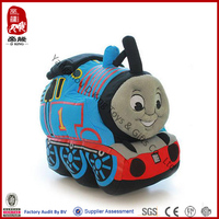 China wholesale education baby toy stuffed plush cartoon thomas train