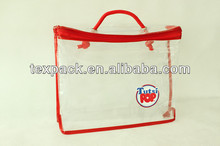 Thickness 0.1mm Clear PVC Bag for Packaging & Promotion